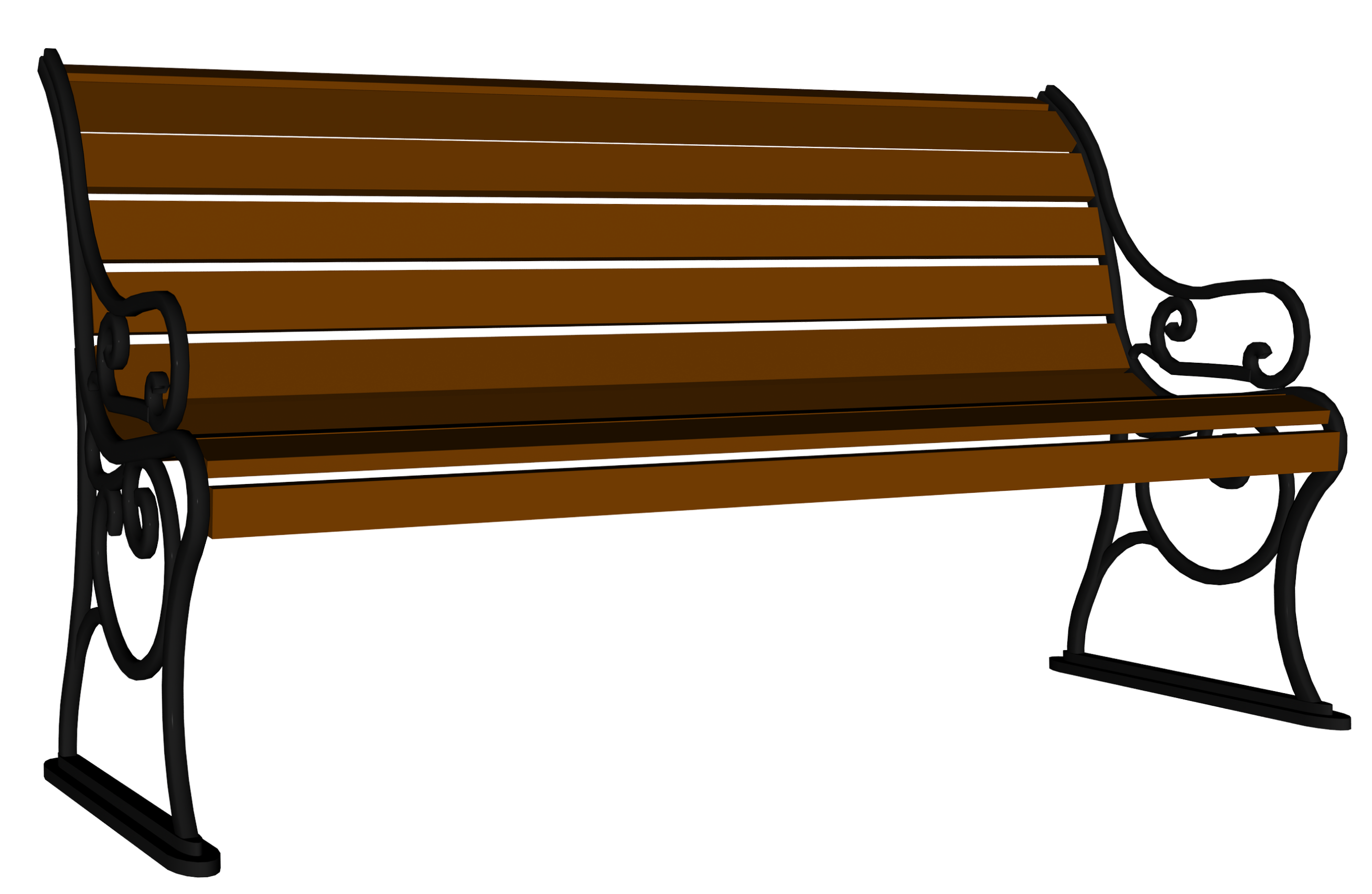 Clipart bench.