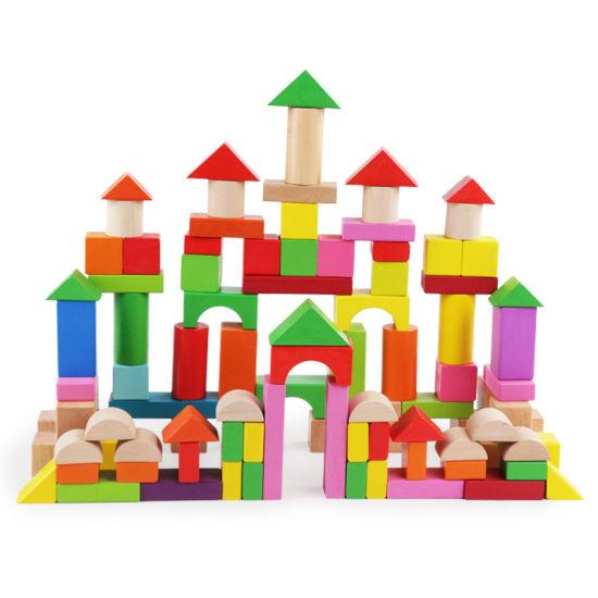 China 100PCS Children Education Toy Color Shape Recognition.