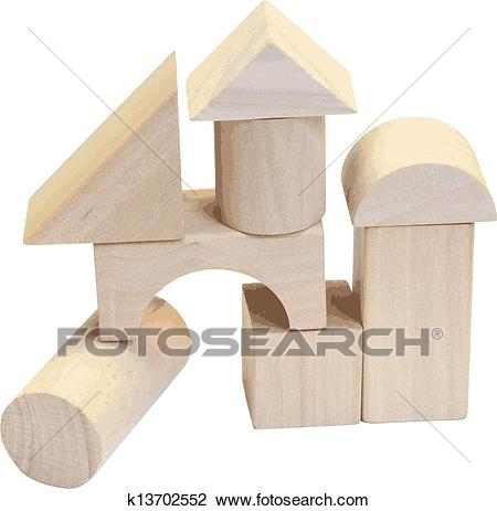 Wooden blocks clipart 4 » Clipart Station.