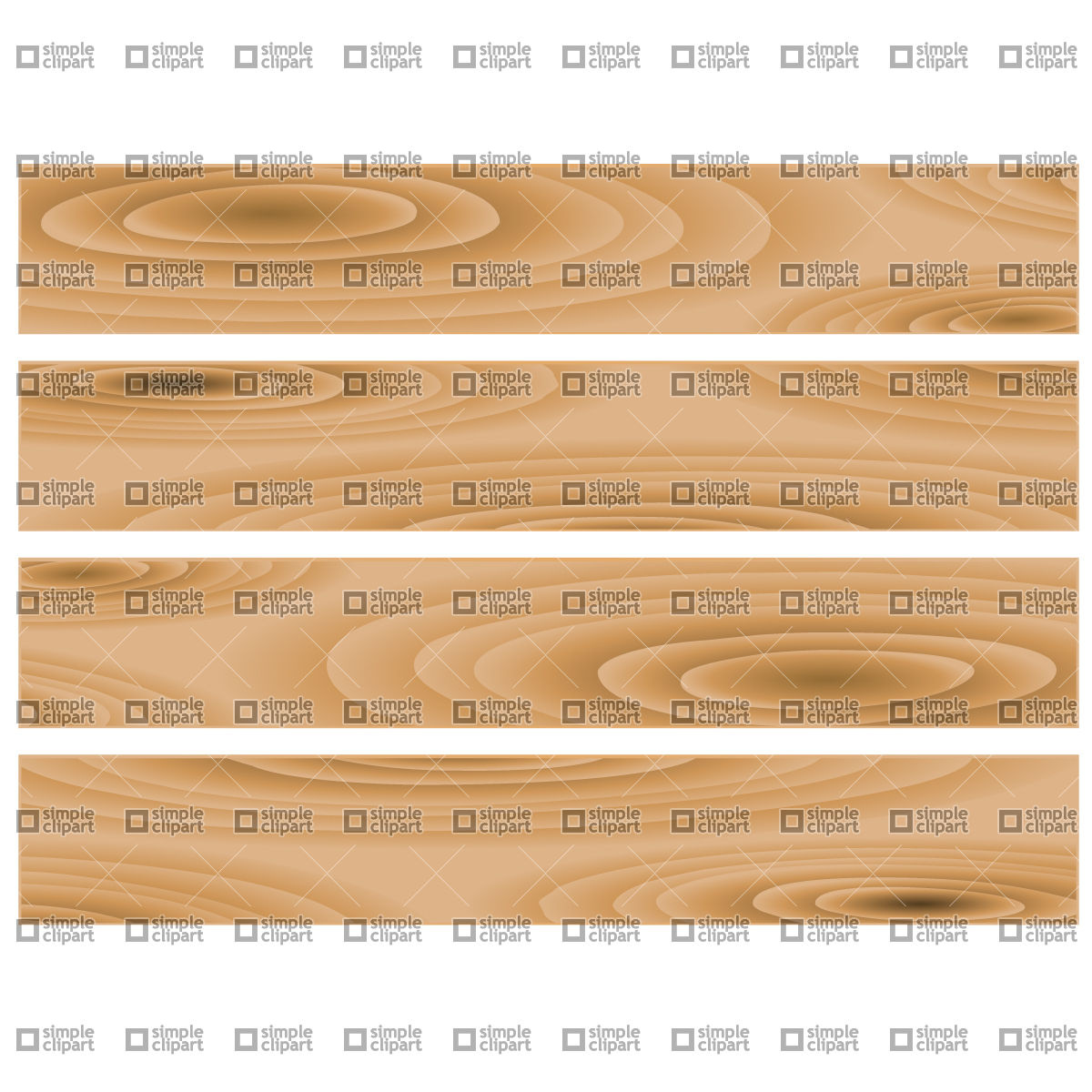Wooden boards Vector Image #751.