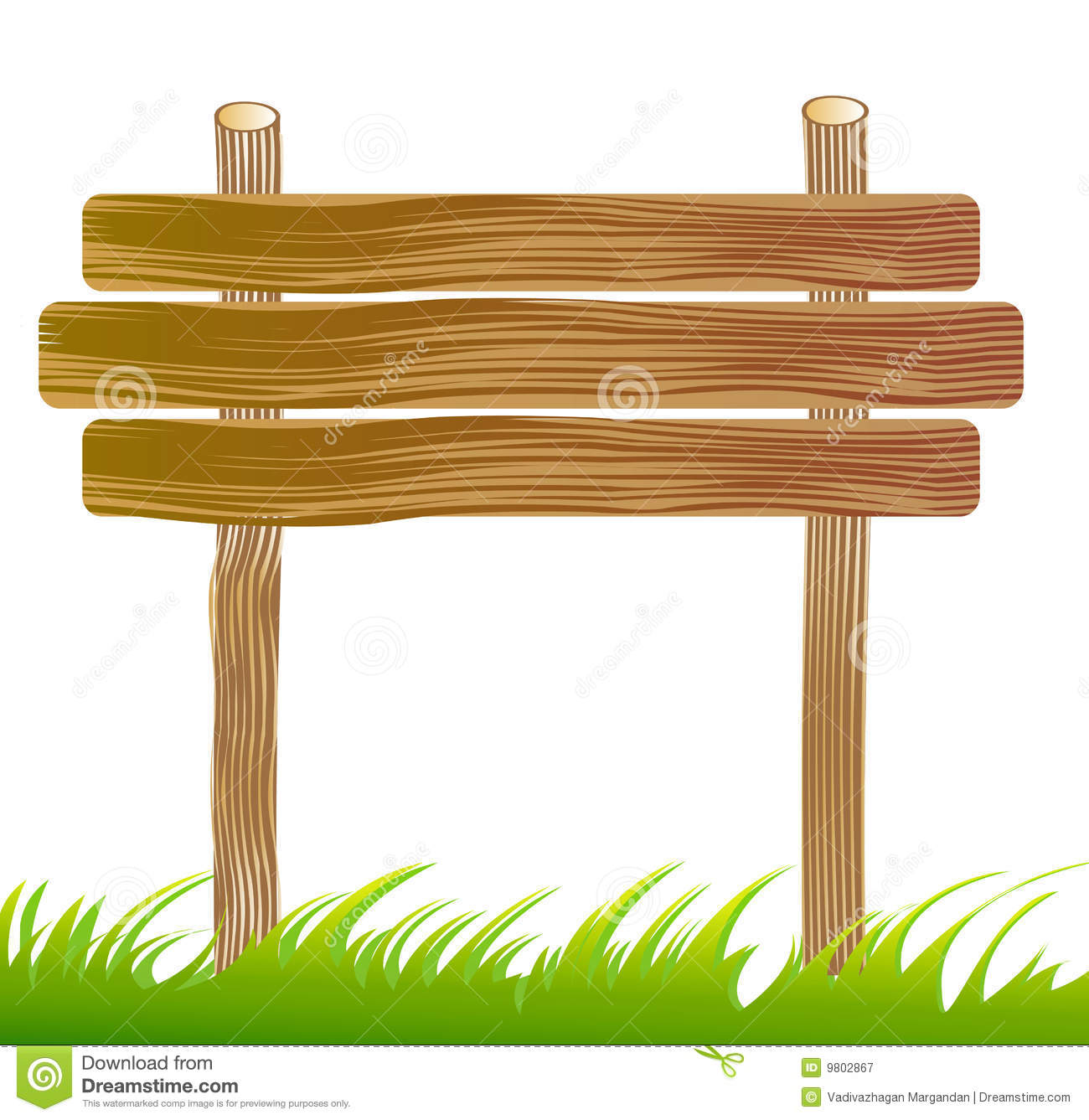 Wood Board Clipart.