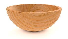 Empty Wooden Bowl Stock Illustrations.
