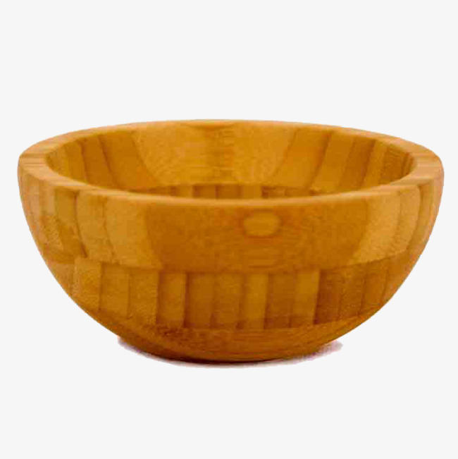 Wooden Bowl Clipart.