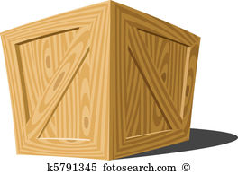 Wooden box Clipart Illustrations. 6,877 wooden box clip art vector.