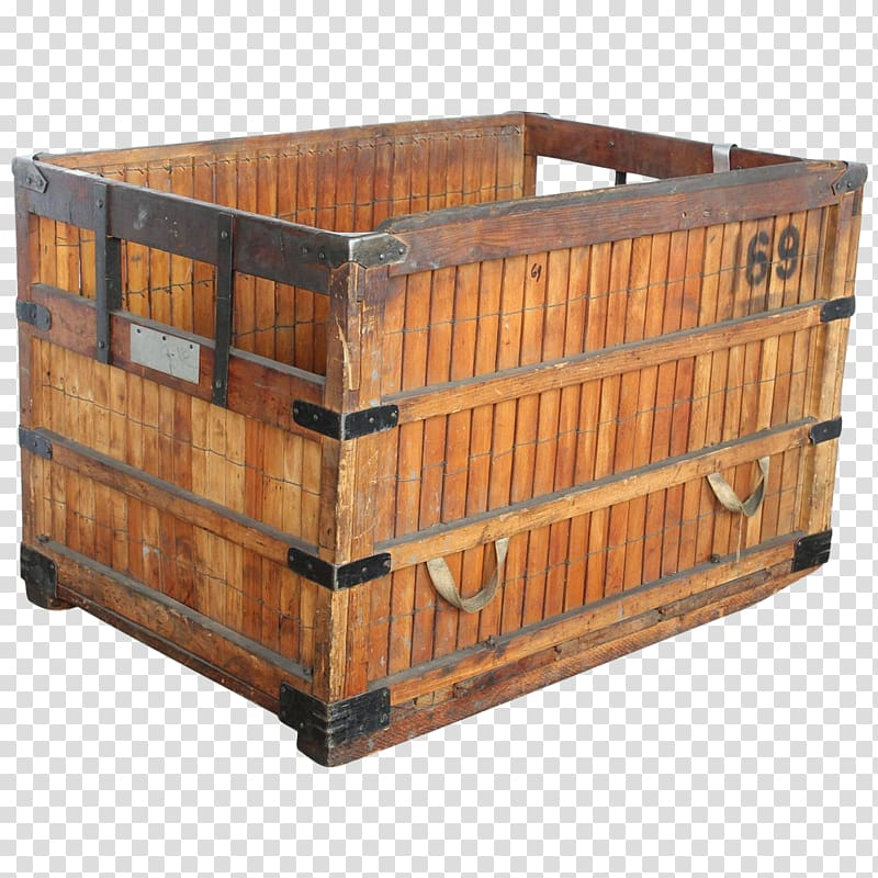 Crate Wooden box Plywood, box transparent background PNG.