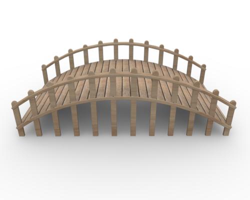Wooden Bridge Clipart.