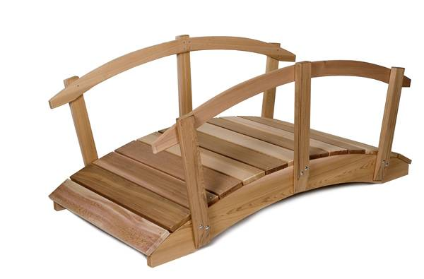 Wood Bridge Clipart.