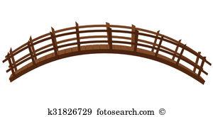 Wooden bridge Clip Art and Stock Illustrations. 683 wooden bridge.