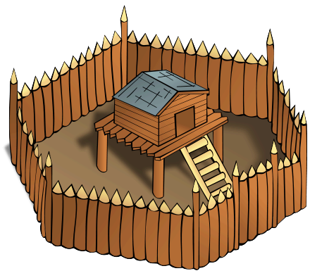 Free Fort Clipart.