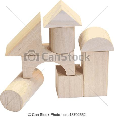 Wooden building block Stock Illustrations. 2,268 Wooden building.