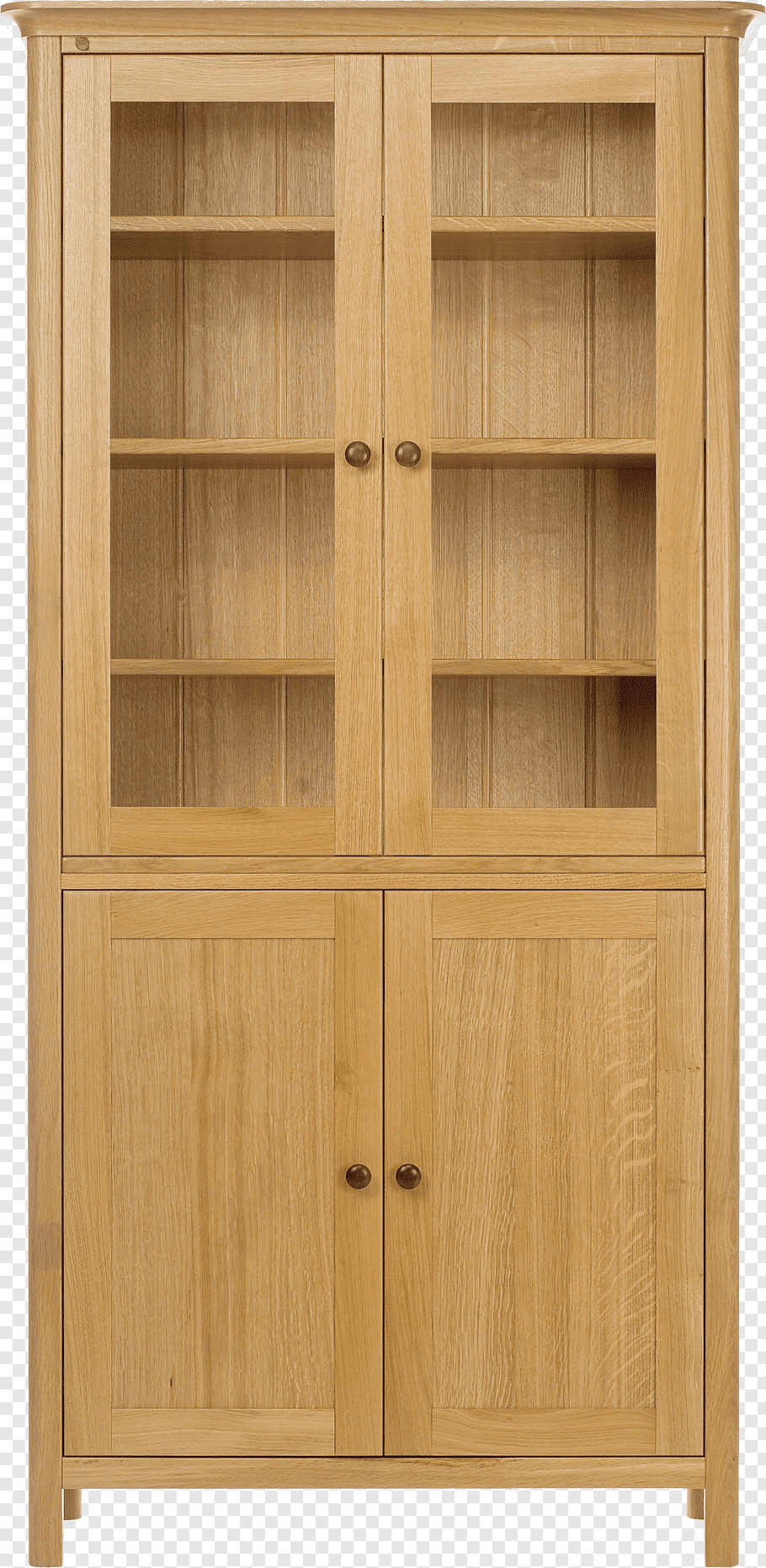 Brown wooden display cabinet, Pantry Cabinetry Door Wood.