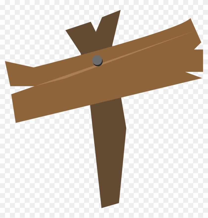 Wooden Sign Clip Art.
