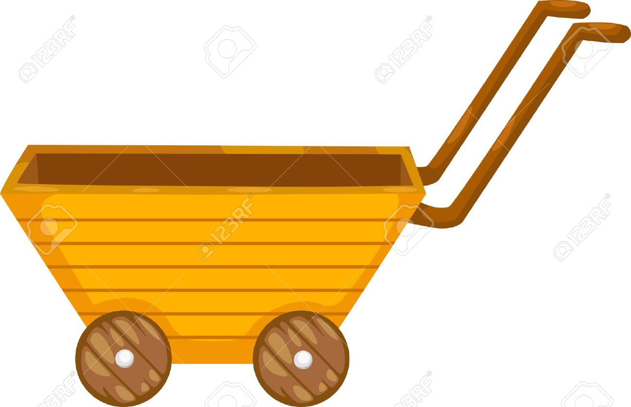 Cart Vector Illustration Royalty Free Cliparts, Vectors, And Stock.