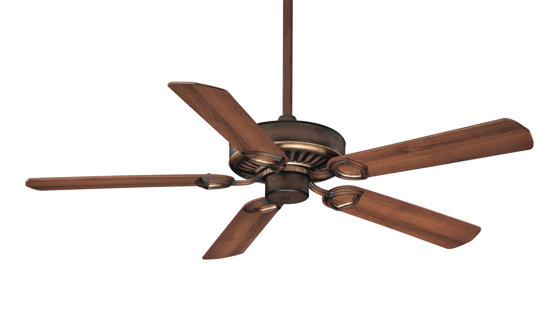 Wooden ceiling fans.