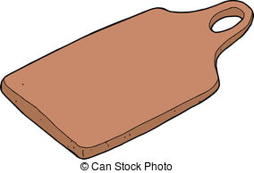 Cutting boards clipart #2