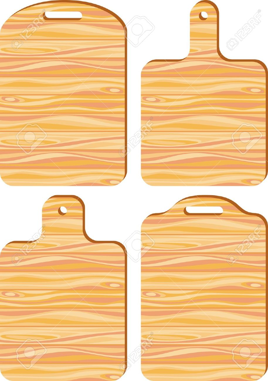 Cutting board clipart.