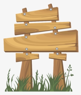 Free Wood Sign Clip Art with No Background.