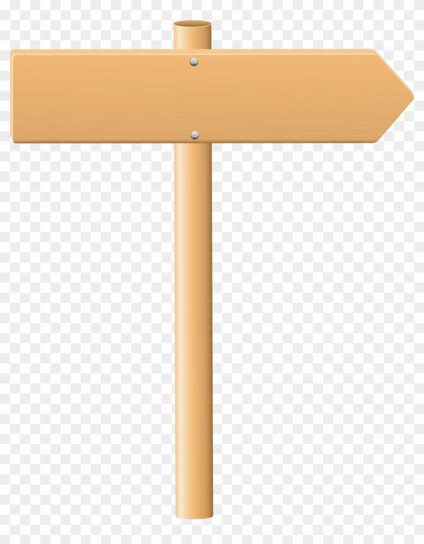 Wooden Sign Png Clip Art, Transparent Png.