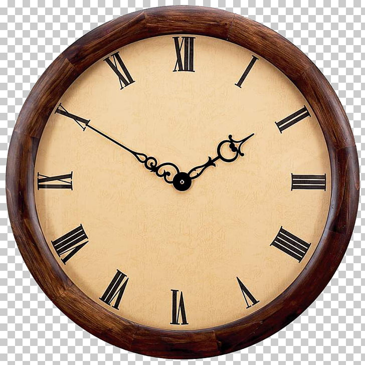 Clock frame , Round the clock face PNG clipart.