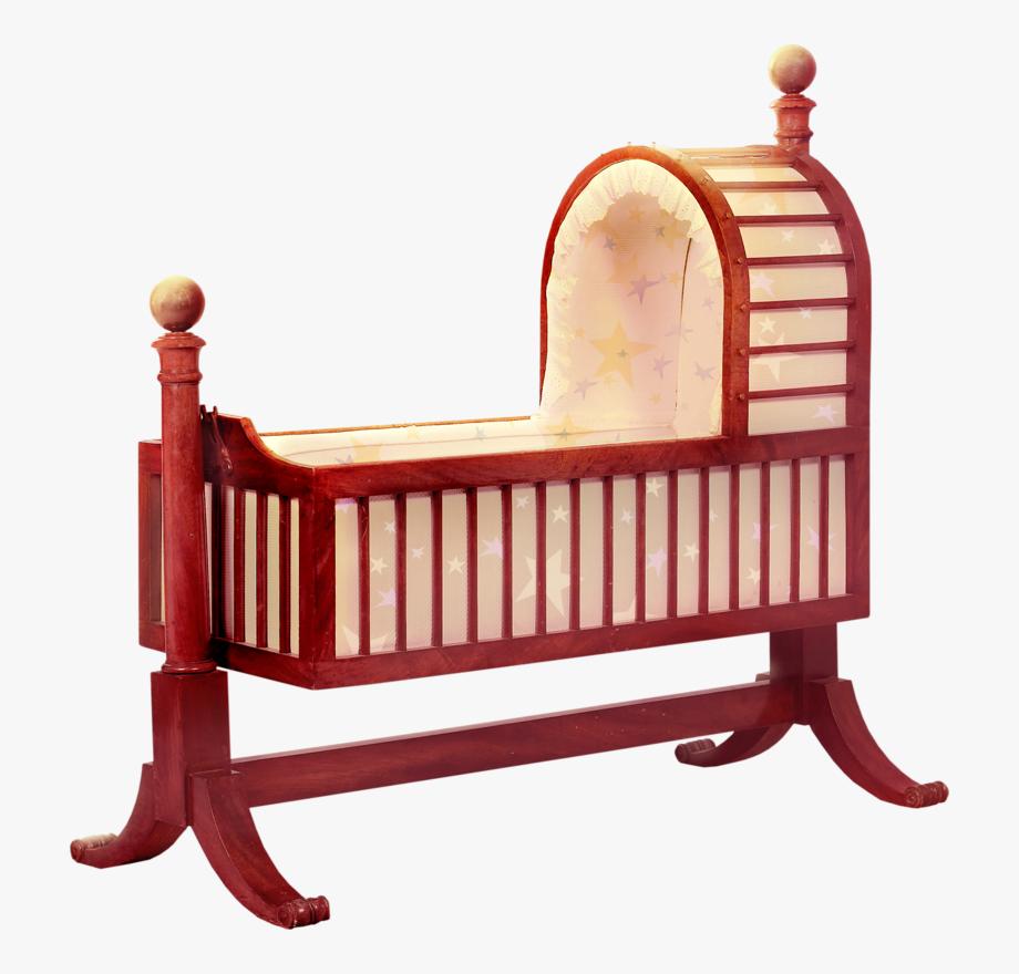 Crib clipart baby jhula, Crib baby jhula Transparent FREE.