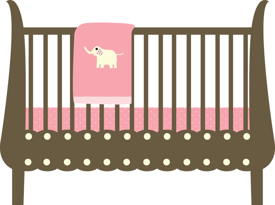 Baby Crib Clipart Png.