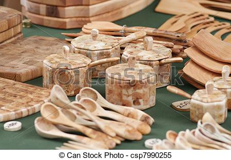 Stock Images of Wood Craft Collection.