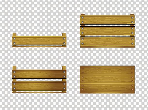 wooden crate clipart #5