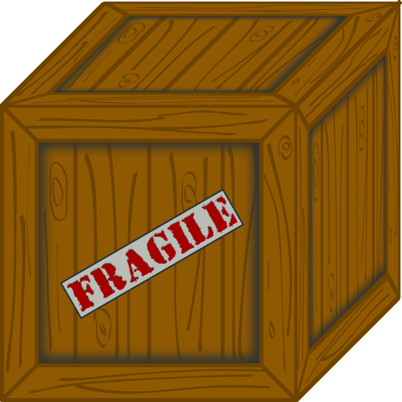 Free Clipart: Wooden crate.