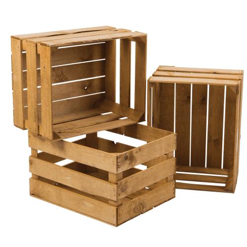 Apple Wooden Crate.