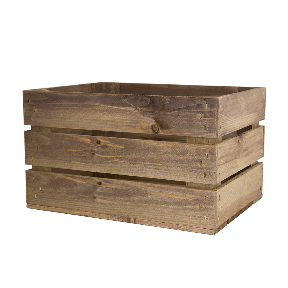 Small Rustic Wooden Crates.