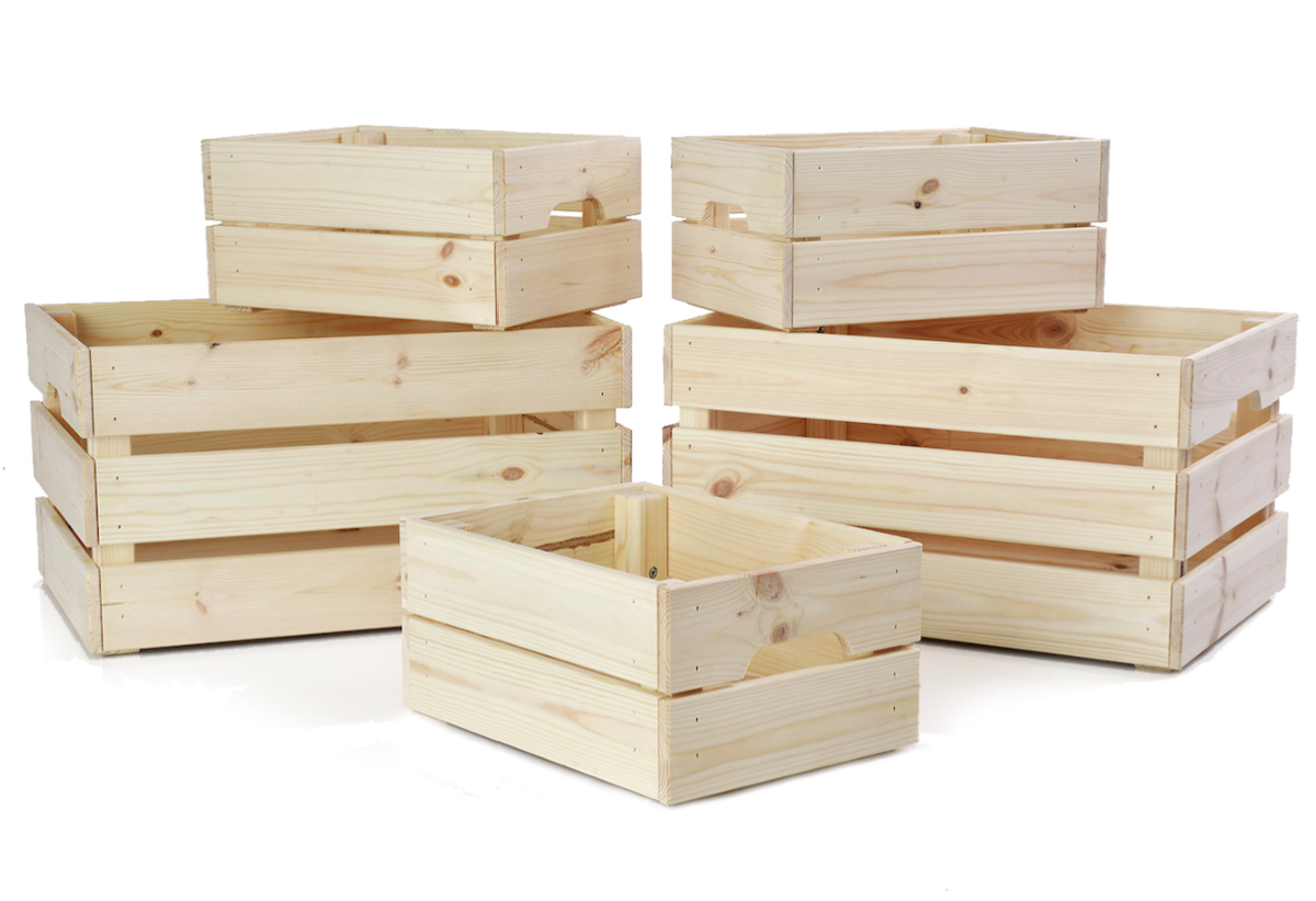 Wooden Crate Png (+).