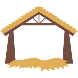 Silhouette Design Store: nativity stable.
