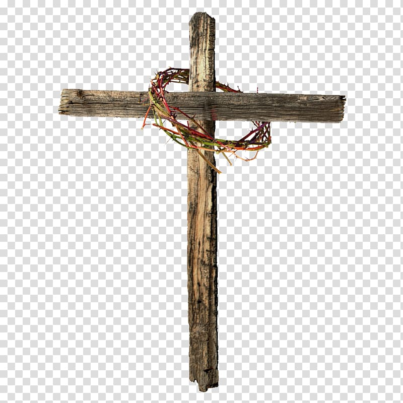 Crown of thorns Calvary Christian cross Resurrection of.