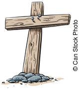 Wooden cross Stock Illustrations. 6,179 Wooden cross clip art.