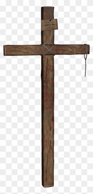 Free PNG Wooden Cross Clip Art Download.