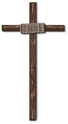 Clip Art Christian Wooden Crosses Clipart.