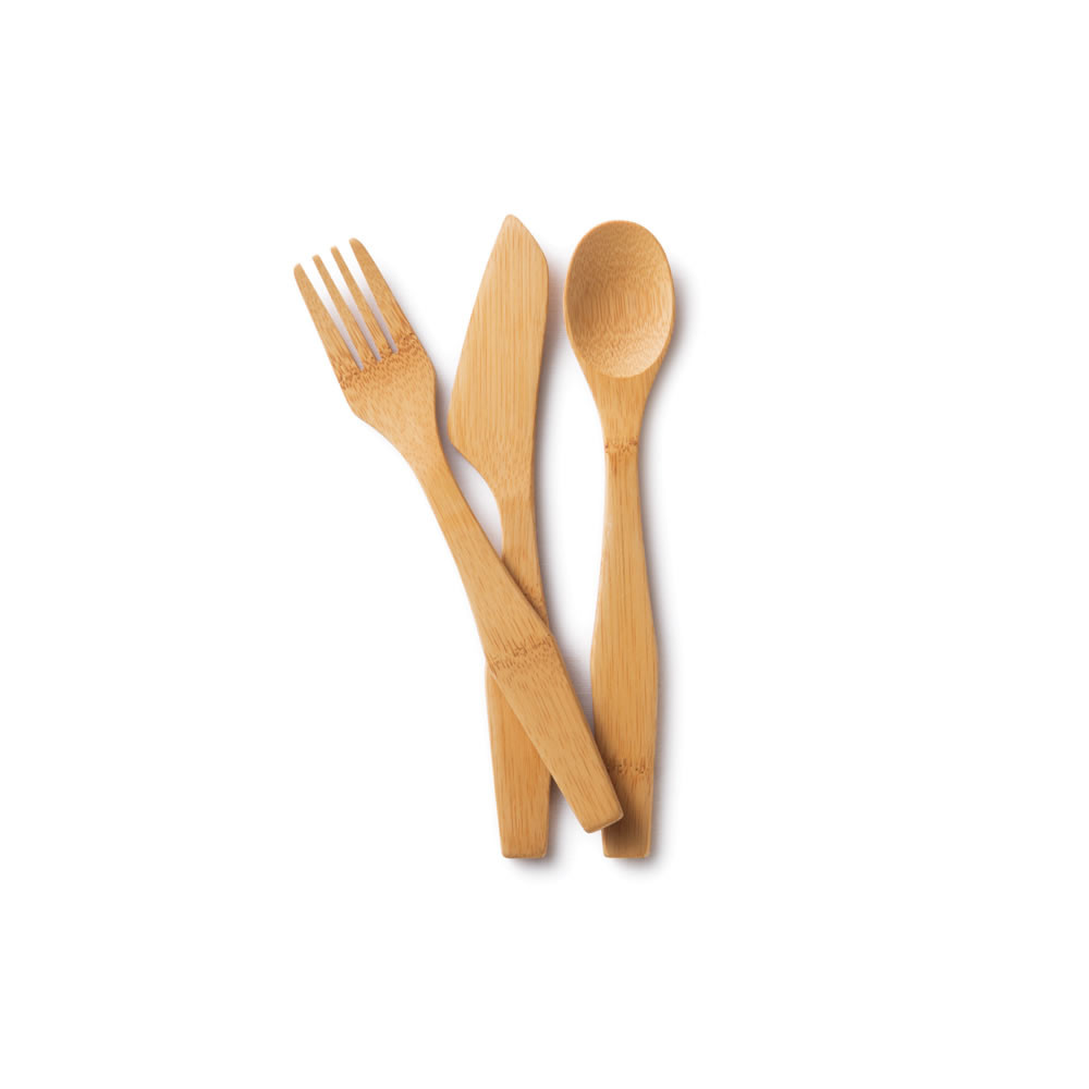 Wooden Forks And Spoons.