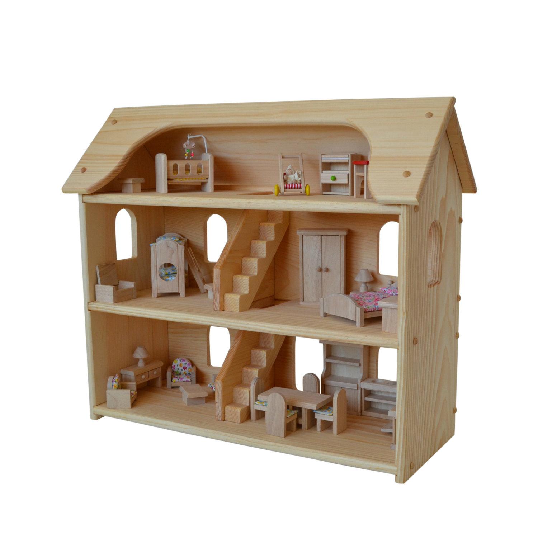 Clip Art Wooden Dollhouse Furniture.