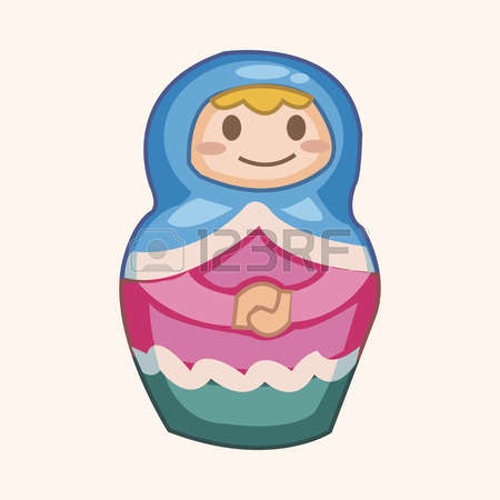 1,674 Matryoshka Doll Stock Vector Illustration And Royalty Free.