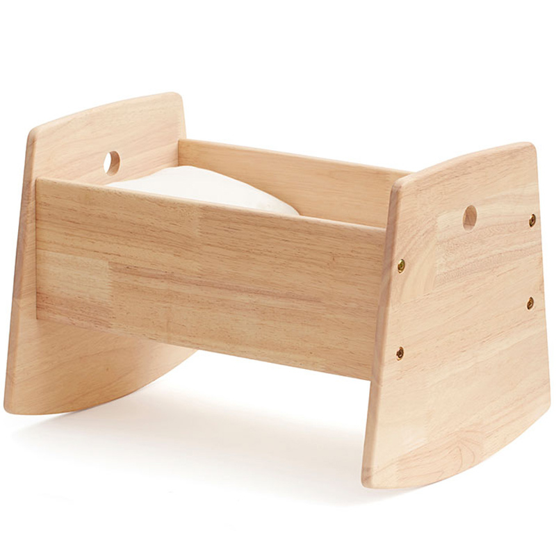 Kids Concept doll crib wood incl. bedset 1000406.