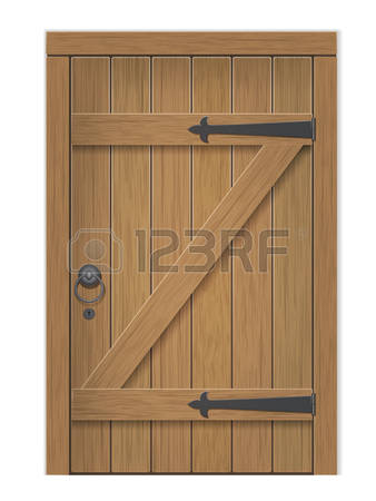 11,882 Wooden Door Stock Illustrations, Cliparts And Royalty Free.