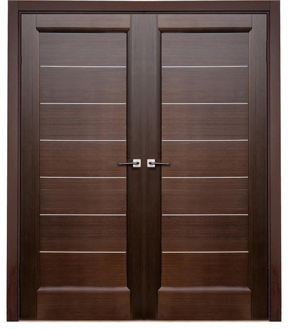 modern door.