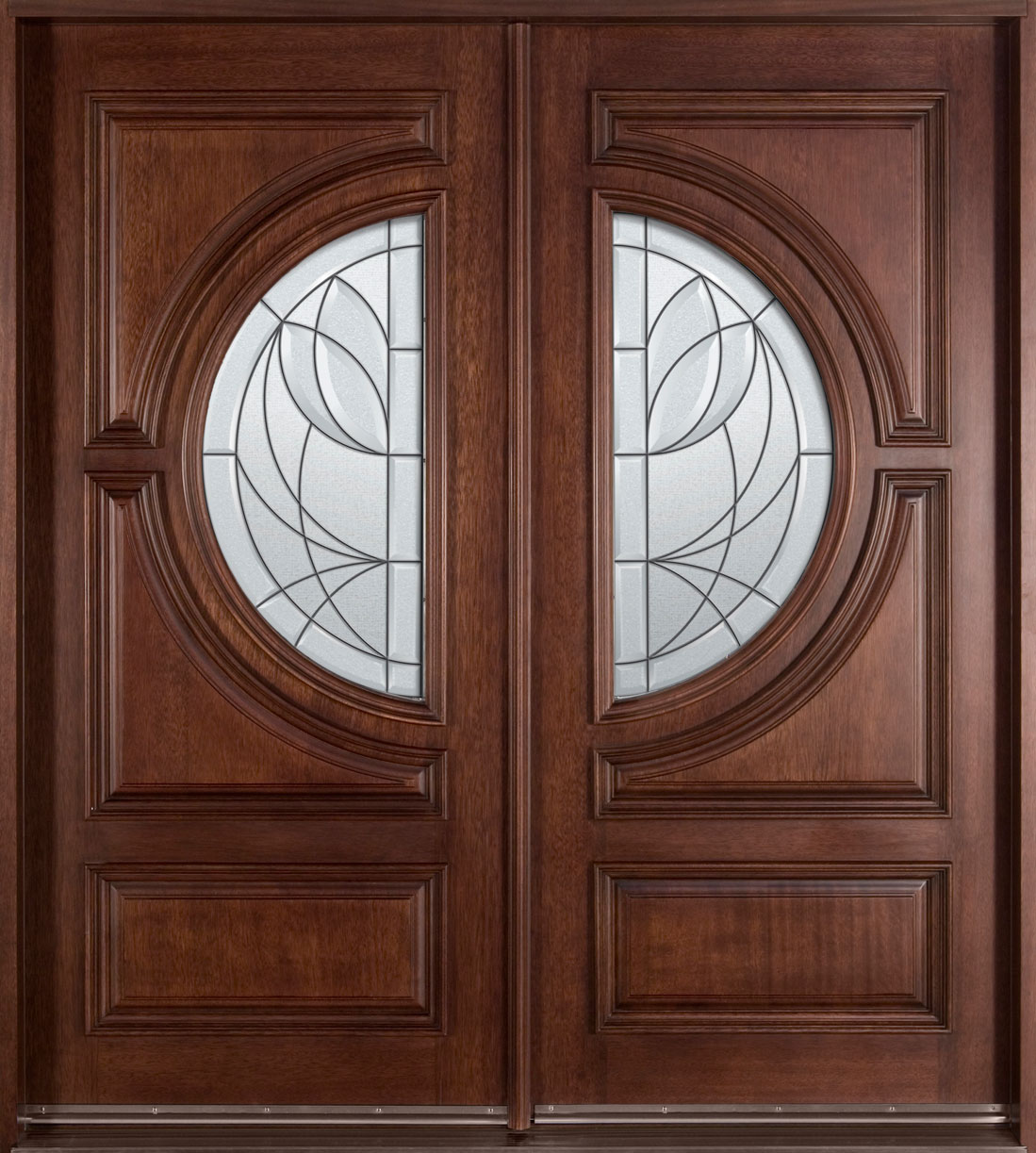 Wood Entry Doors from Doors for Builders, Inc..