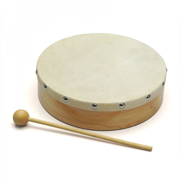 Medium Wooden Hand Drum.