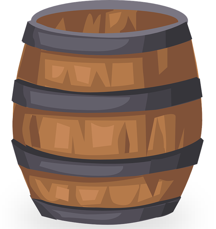 Free to Use & Public Domain Barrel Clip Art.