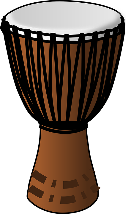 Free vector graphic: Drum, African, Wooden, Traditional.