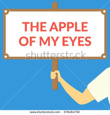 Apple Of The Eye Stock Photos, Royalty.