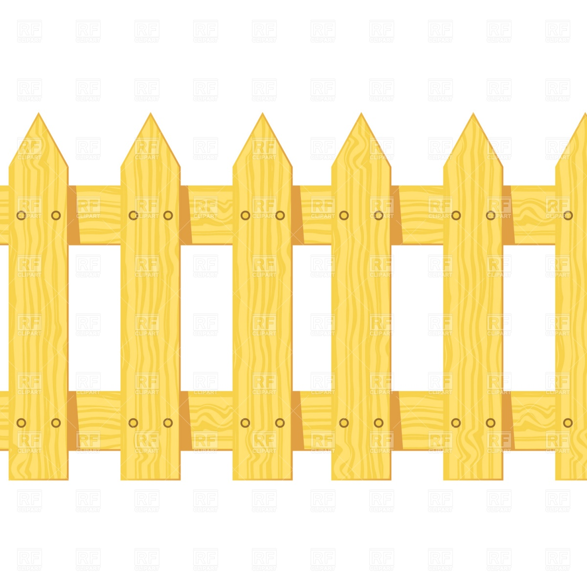 2758 Fence free clipart.