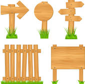 Wooden Fence Clip Art.