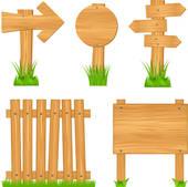 Wooden Fence Clip Art.